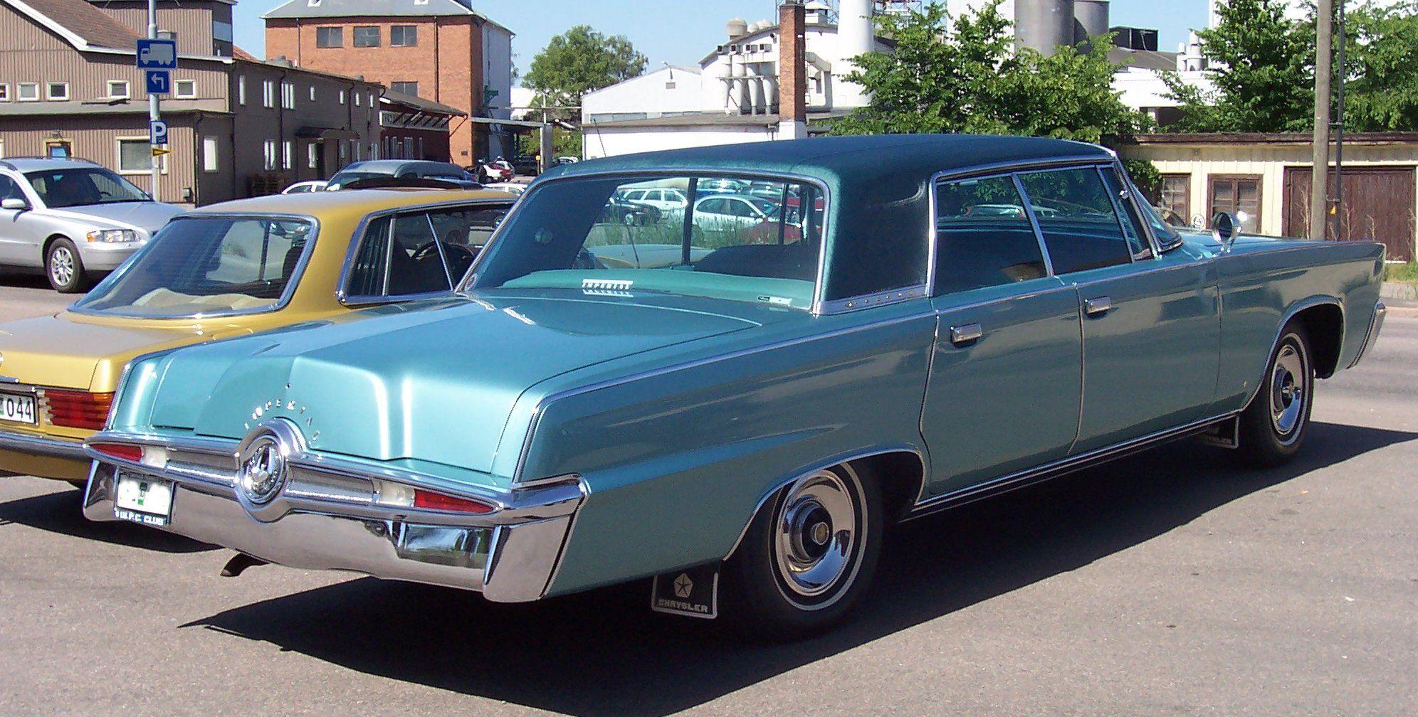 1965 Imperial Crown 4 Door Hardtop Chrysler Cars Chrysler