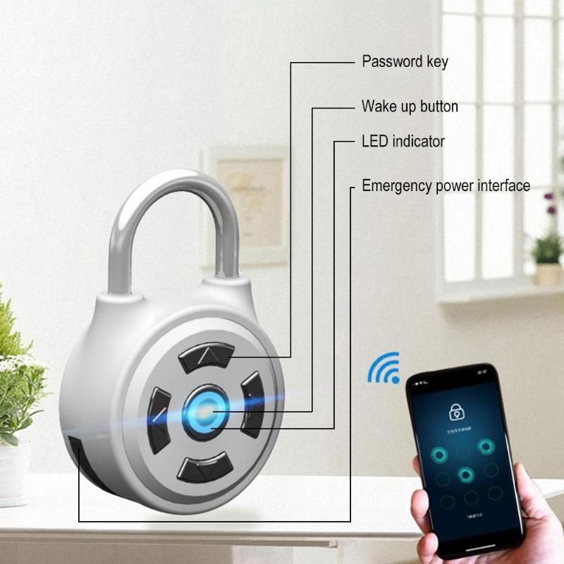 Mobile phone unlock electronic wireless lock Bluetooth