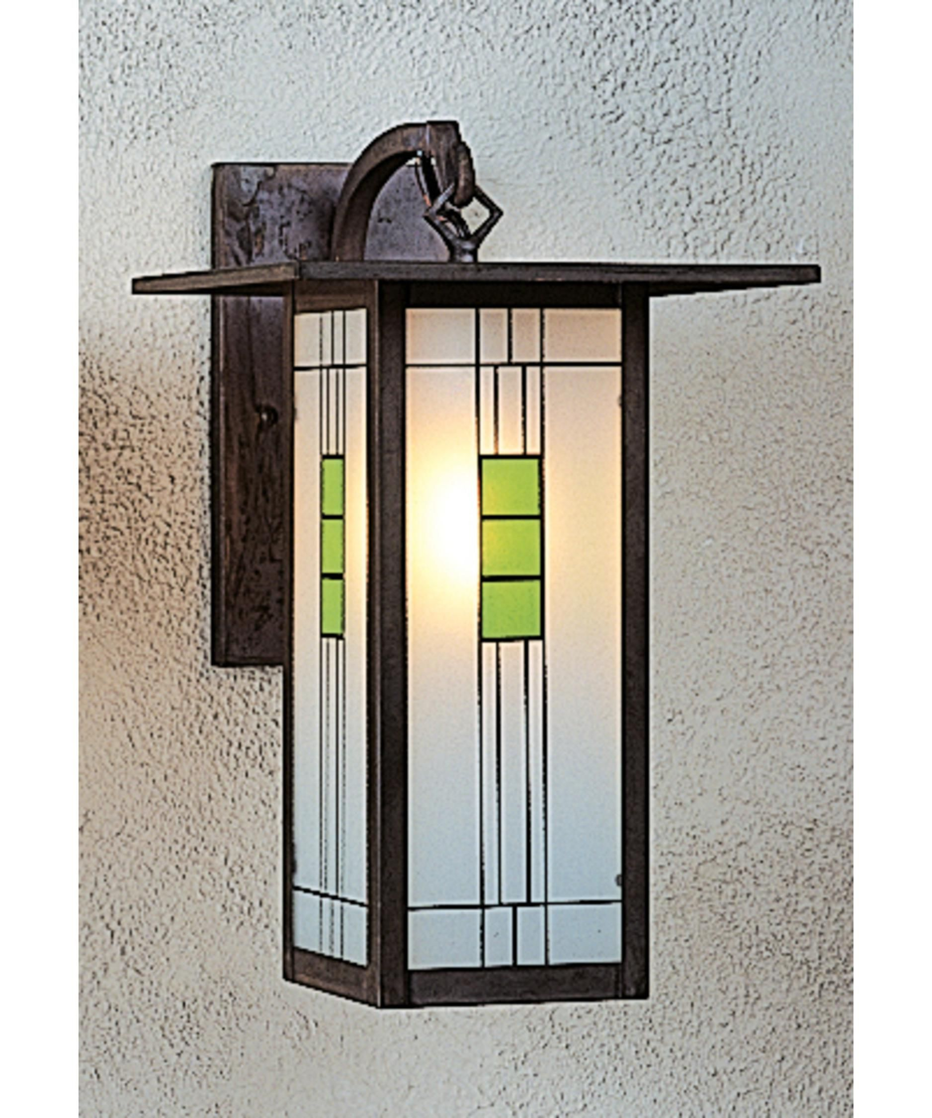 Franklin 15 Inch Tall 1 Light Outdoor Wall Light By Arroyo Craftsman Outdoor Wall Lighting Wall Sconces Wall Lights