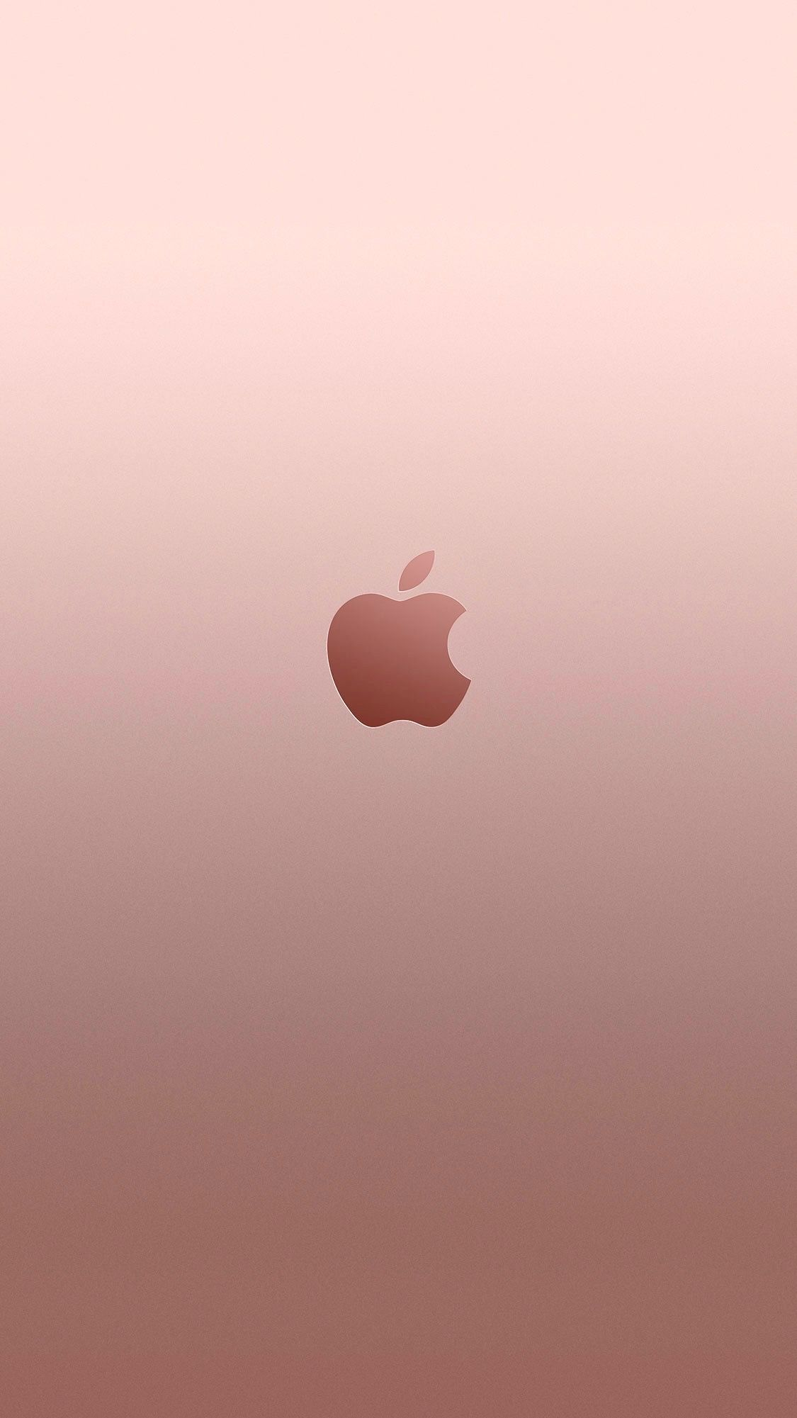 Iphone 7 Rose Gold Apple Wallpaper