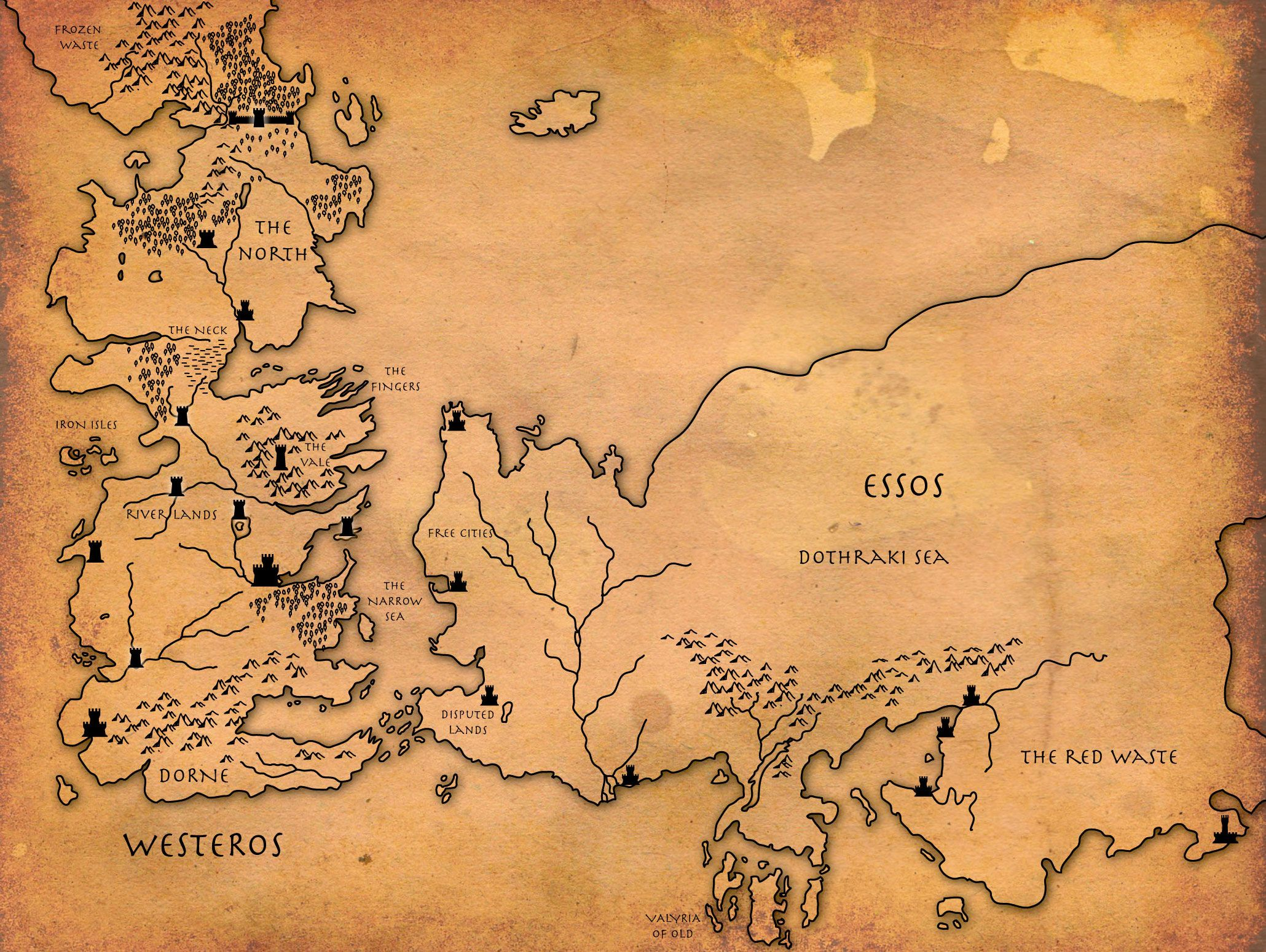 Game of Thrones map. Fairly large photo. Print it out and ... Game Of Thrones Map Large on game of thrones maps hbo, united states map large, game of thrones castle names, game of thrones westeros, game of thrones chart, game of thrones dragon symbol, game of thrones narrow sea, earthsea map large, game of thrones house wallpapers, game of thrones house symbols, game of thrones clan names, game of thrones you rock,