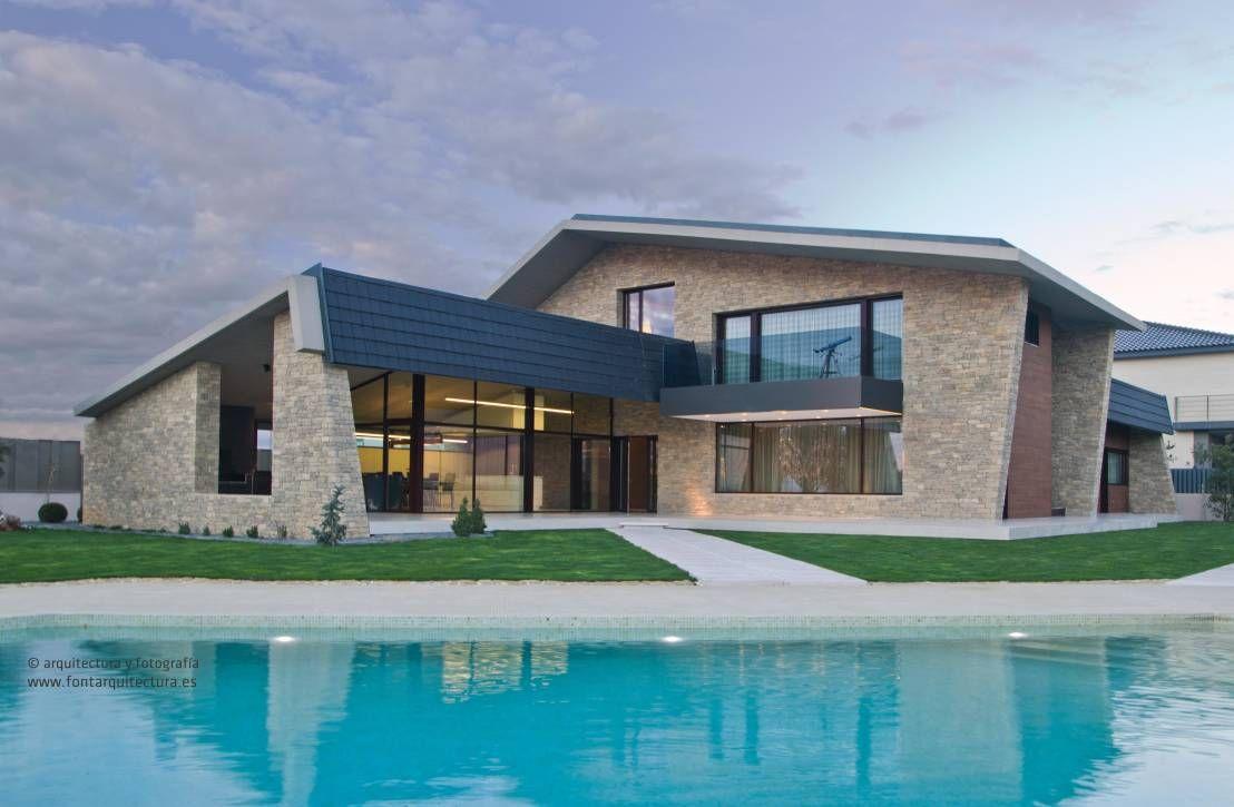 fabulosa casa rústico-moderna en castellón | estilo minimalista