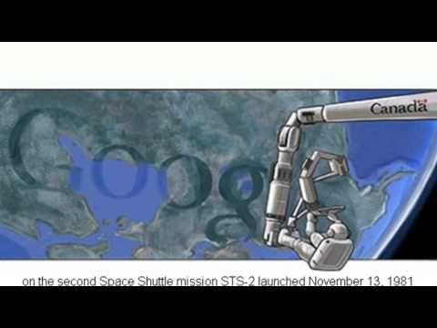 Canadarm Google Doodle 2012