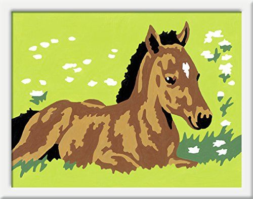 Ravensburger 29592 Kleines Fohlen Malen Nach Zahlen 8 5 X 12 Cm Ravensburger Http Www Amazon De Dp B00qki04t8 R Malen Nach Zahlen Pferde Handwerk Fohlen