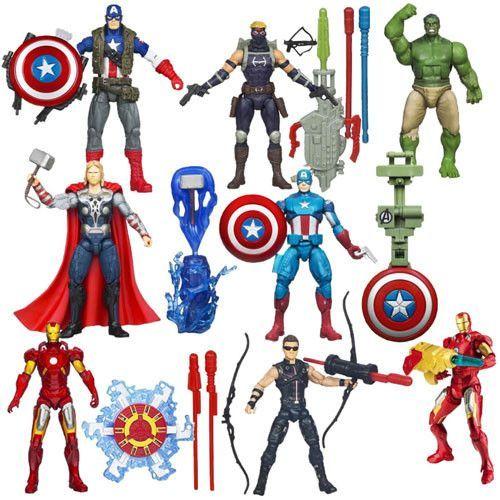 "Hasbro Inc H36671000B Avengers The Movie - Earth's Mightiest Heroes 3.75"" Figures - 000B"