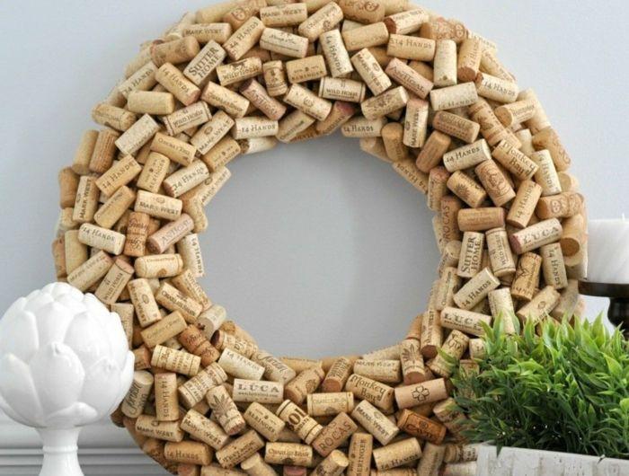 1001 id es que faire avec des bouchons en li ge li ge wine cork crafts wine cork projects. Black Bedroom Furniture Sets. Home Design Ideas