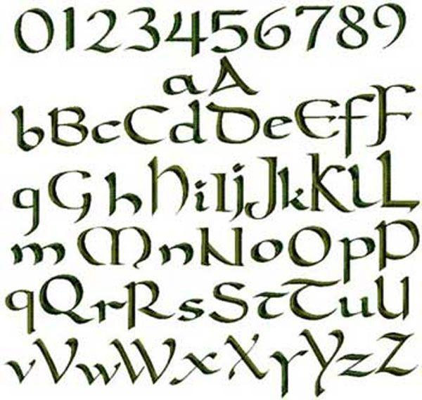 Gaelic Font