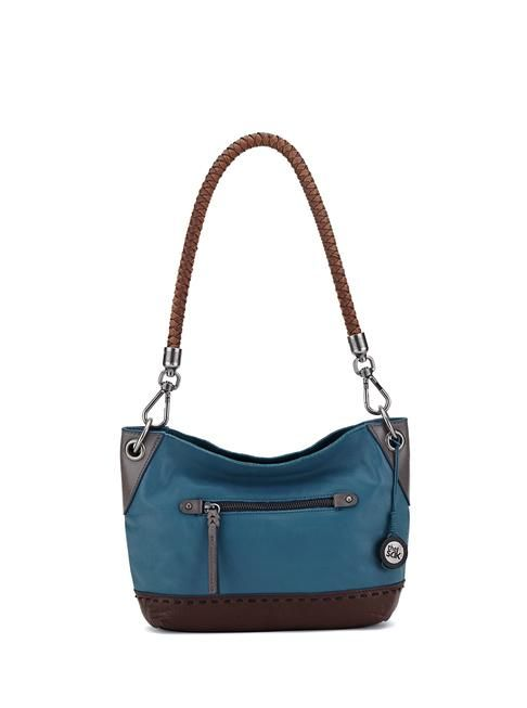 Our most popular leather small hobo is now available in new flavors featuring textured and layered leathers and casual cool embellishments.