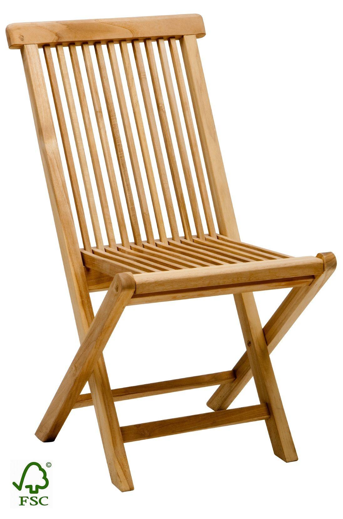Záhradná stolička TEAK - SCONTO NÁBYTOK