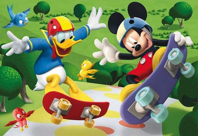 Mickey And Donald Disney Mickey Mouse Clubhouse