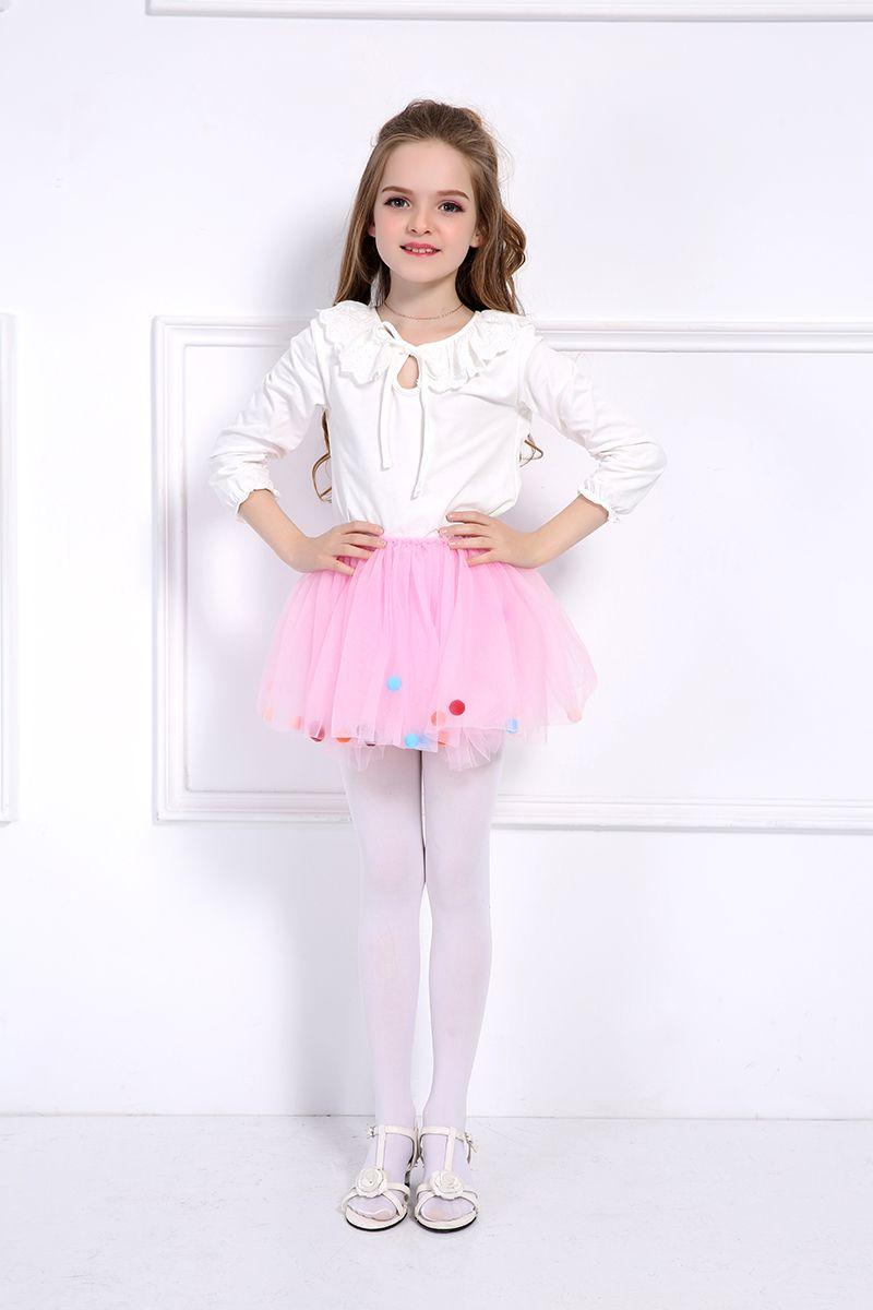 f71d5c7288 2Pcs Girls Tutu Skirt + Headbands Toddler Kids Princess Layered Miniskirt  Baby Ballerina Pettiskirt Children Tulle