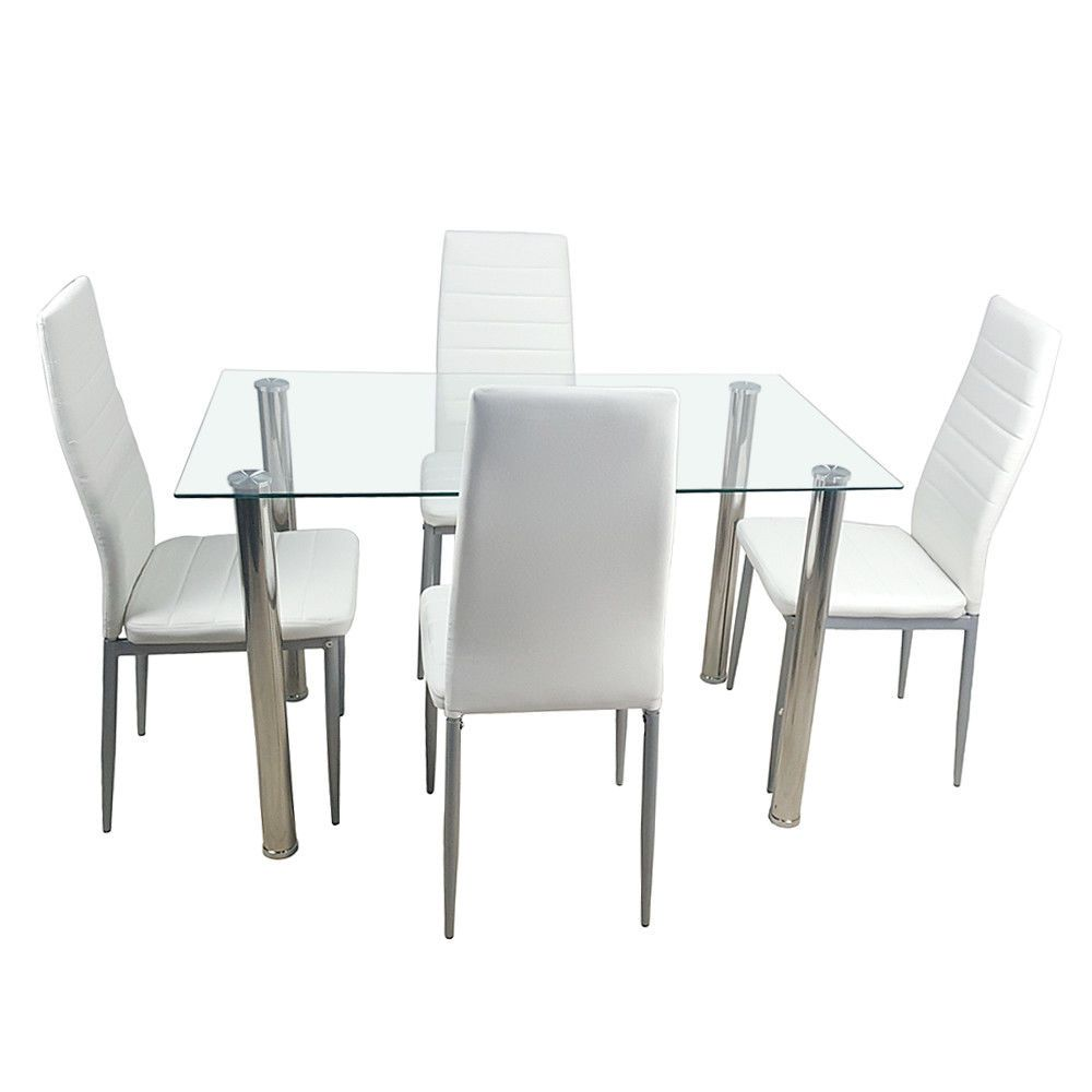 Are You Looking For A Dining Table Set X3f It Adopts 8mm Tempered Glass And High Quality Modern Dining Room Tables Dining Room Table Set Glass Dining Table