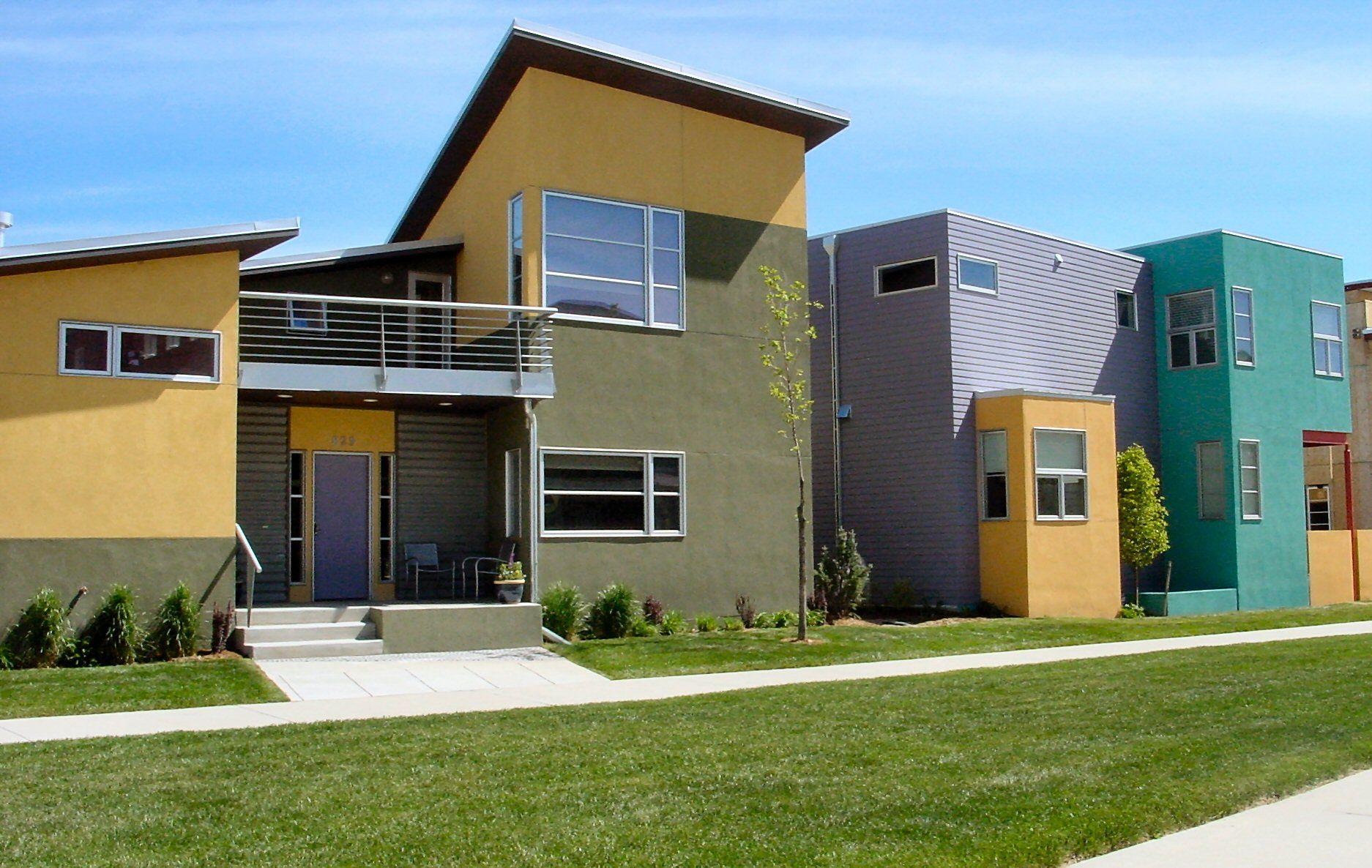 Modern Houses | ... Characteristics of Modern Houses | Backyard ...
