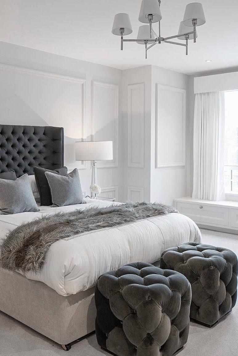 Master bedroom decorating ideas gray  Fabulous master bedroom decorating ideas guest bedrooms small