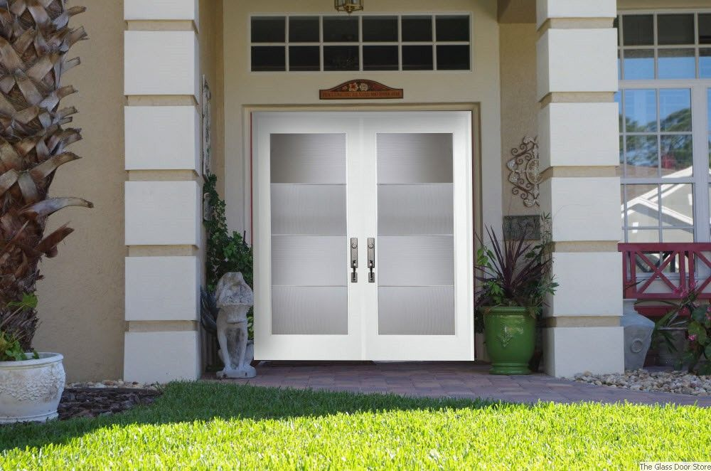 Modern Glass Double Front Doors Google Search Front Doors