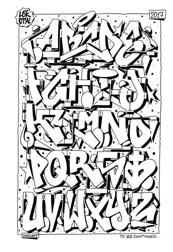 26 Letters of Style #5 Graffiti Alphabet | Bombing Science