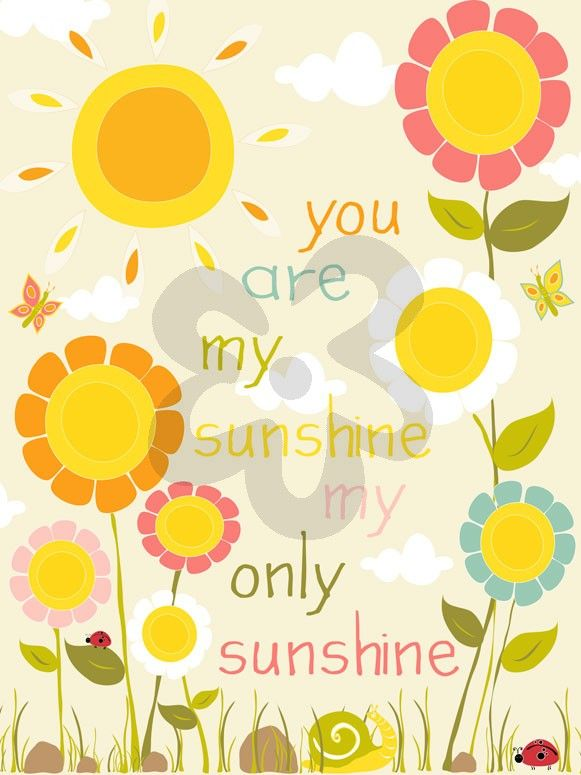 Sunshine Flowers, Inspirational Canvas Wall Art | Oopsy daisy | For ...