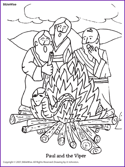 paul coloring pages for kids - photo#13