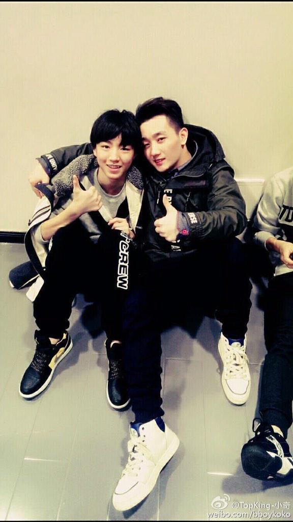 [!!] 150211 TopKing-小奇's Weibo Update