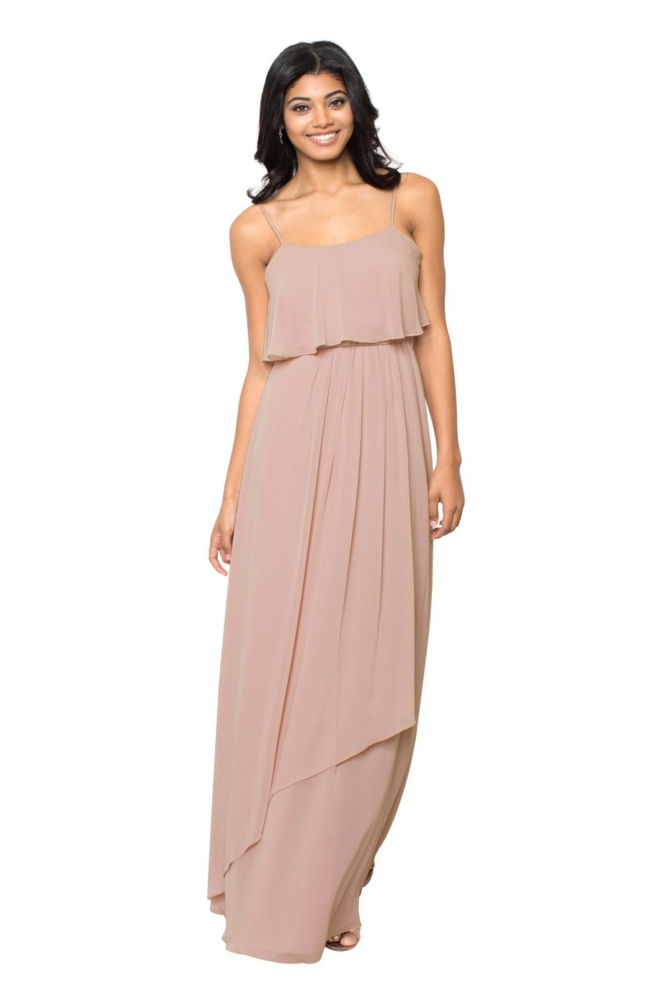 Watters Patti | Chiffon gown, Gowns and Bridal parties