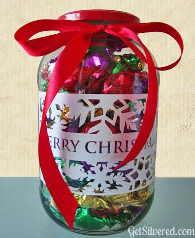 A Game Of Guessing How Many Candies Are In A Jar If You Don T Want To Use Candy Try Other Christmas Christmas Candy Jars Christmas Jars Candy Guessing Game