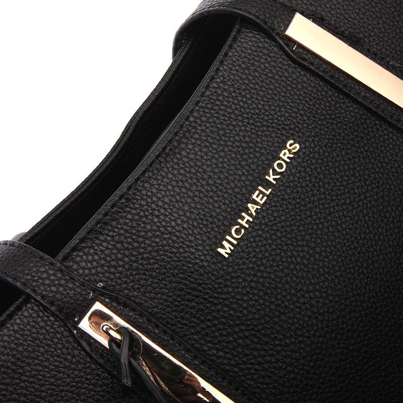eb13f76f57ed New Arrival Michael Kors Jaryn Large Leather Shoulder Tote Black ...