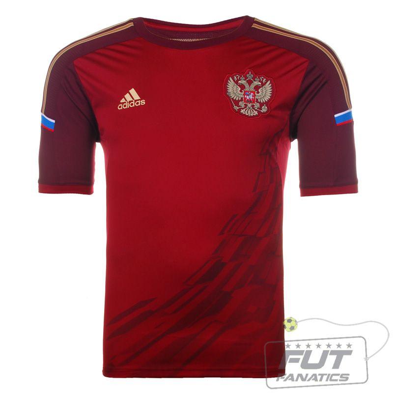 e6a2fc61e2 Compre a Camisa Adidas Rússia Home 2014 Infantil na FutFanatics e parcele  no cartão de crédito ou com desconto no boleto.