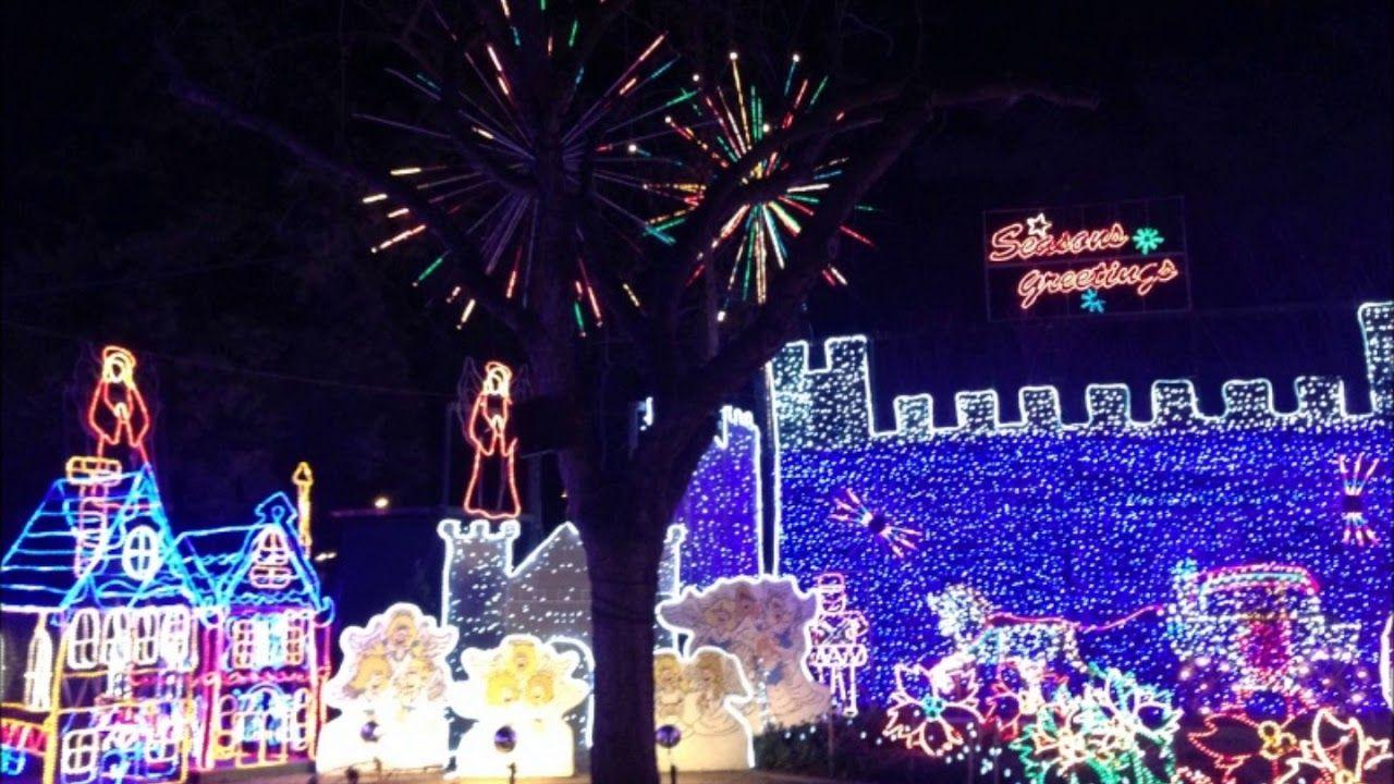 Christmas Tree Lane Fresno,California! Fresno california