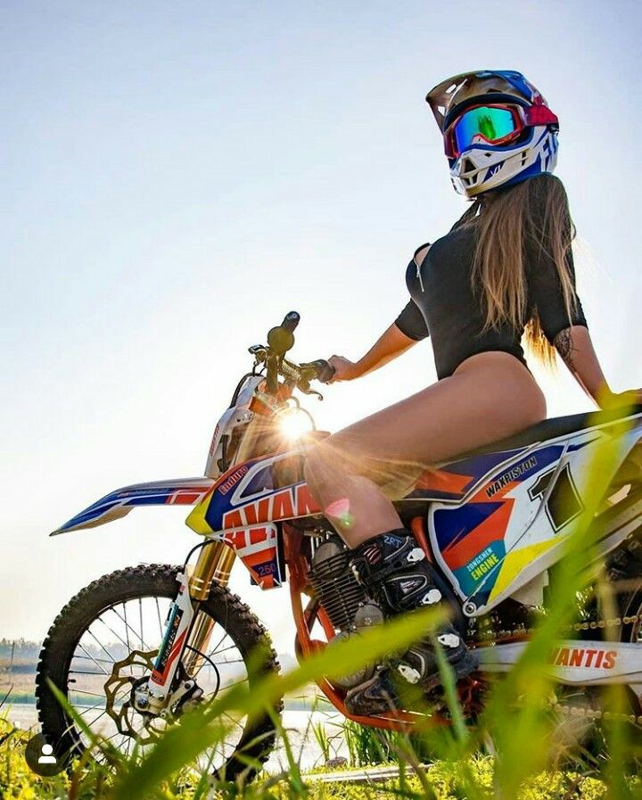 MotoCross Free Style and Hot Model | Motorcycles and Hot