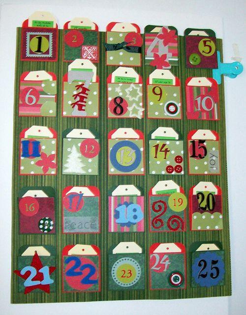 calendarios de adviento diy para unas dulces navidades