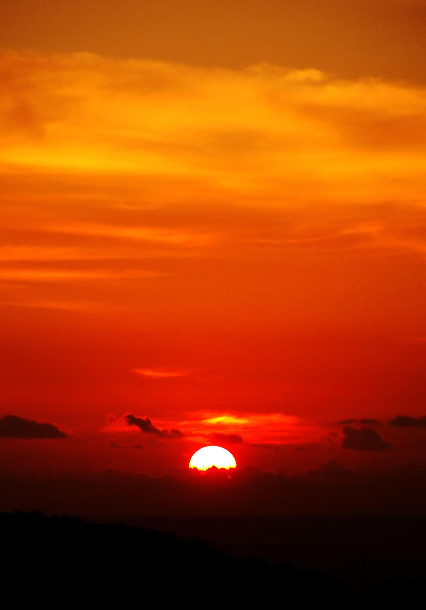 dawn - another sunset on one of the most romantic place in Jogja