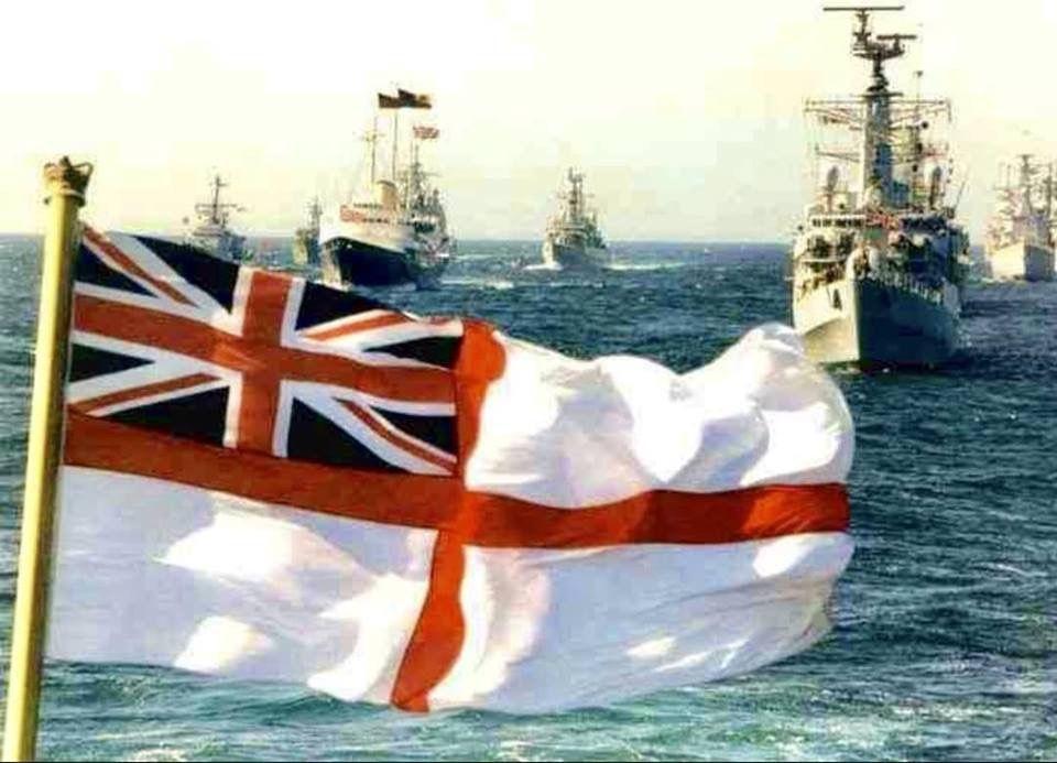 British Royal Navy Flag Royal Navy Ships Navy Day Hms Ark Royal