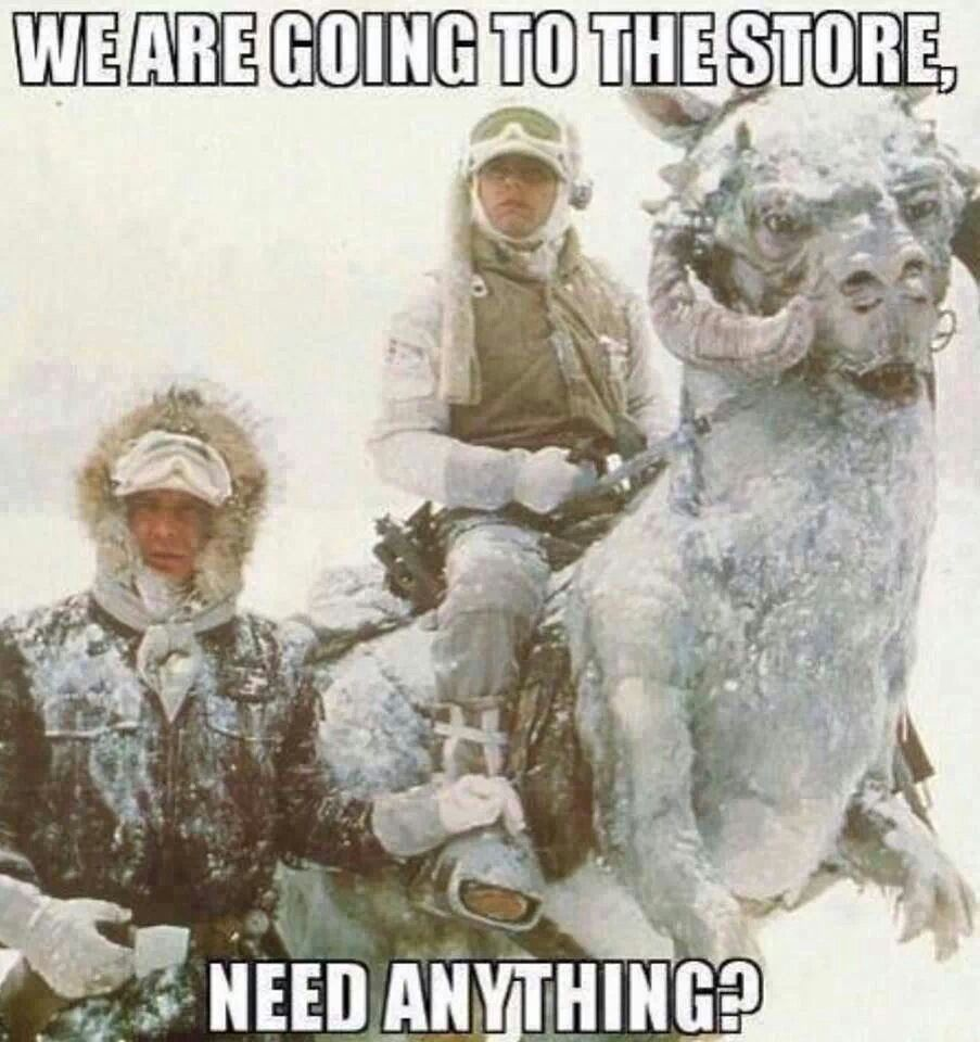 That Was Me Today Winter Humor Star Wars Humor Funny Pictures