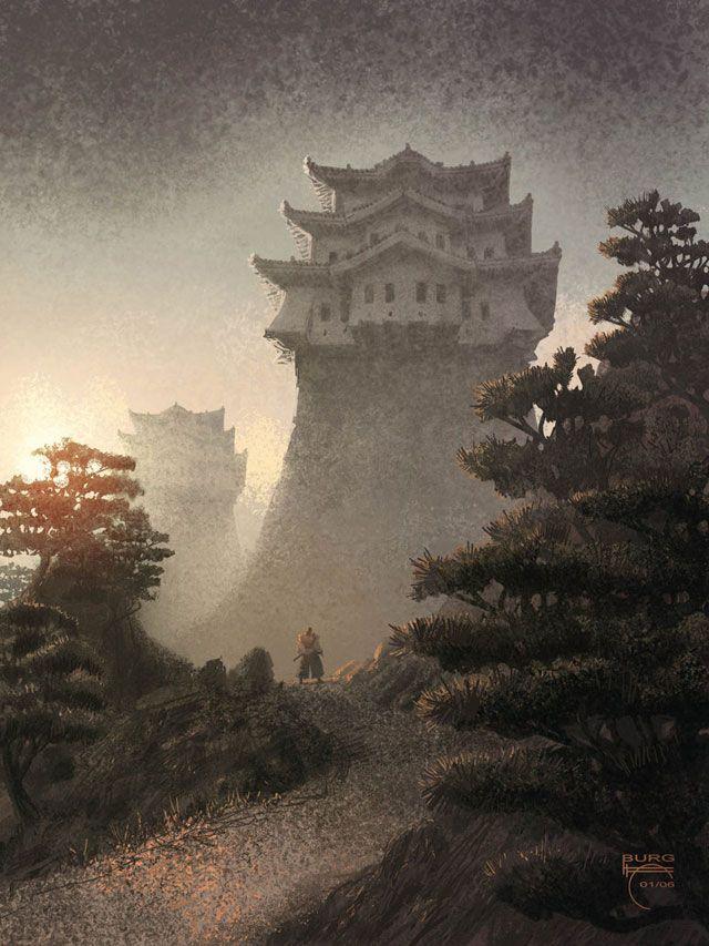 Japanese Style Castle