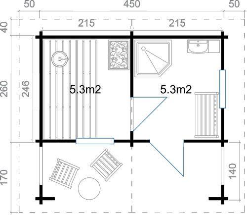 V sledek obr zku pro sauna plan sauna pinterest for Sauna layouts floor plans
