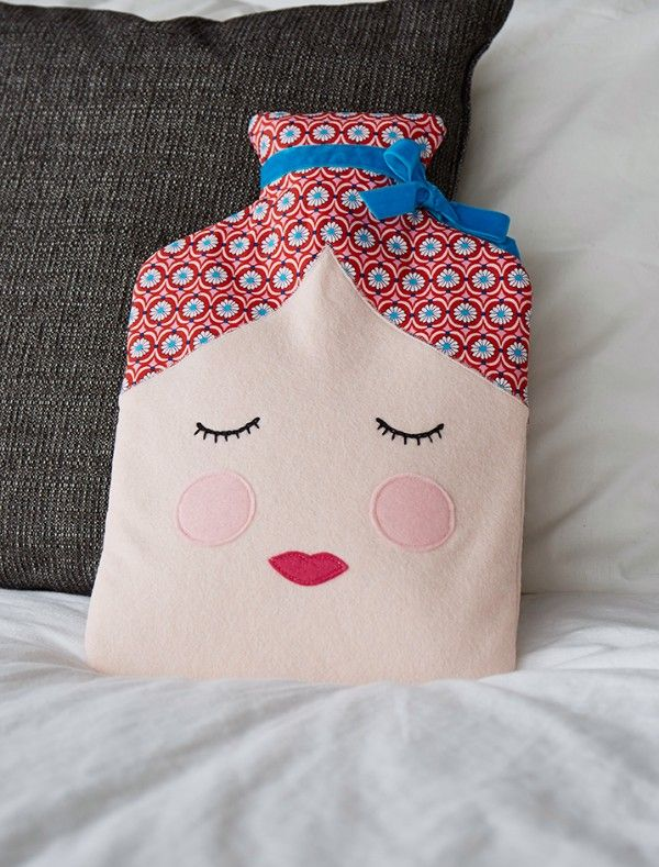 Image result for hot water bottle cover pattern sew | Applique ...