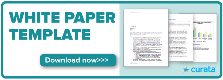 The Ultimate White Paper Template Free Download  Content