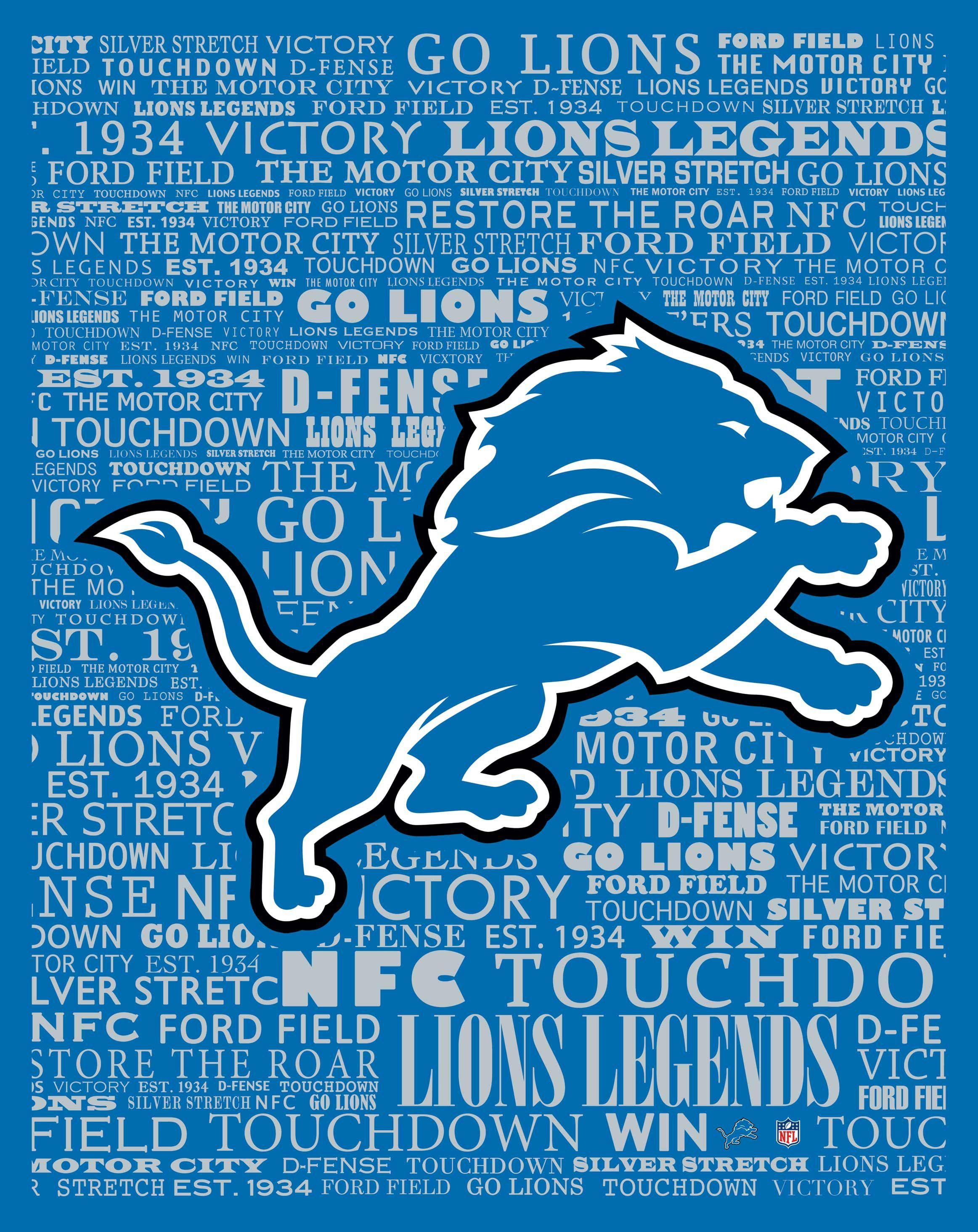 5e71defd Detroit Lions typography (Marmaxx)   NFL   Detroit lions logo ...