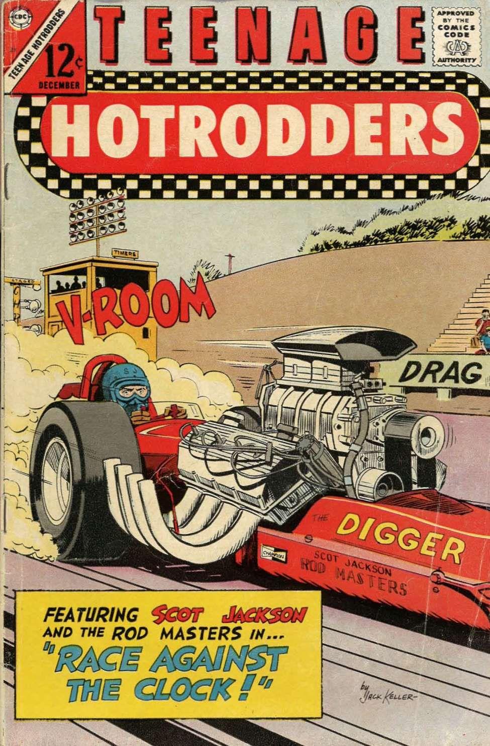 Comic Book Cover For Teenage Hotrodders #21   Comics - Future PLArt ...