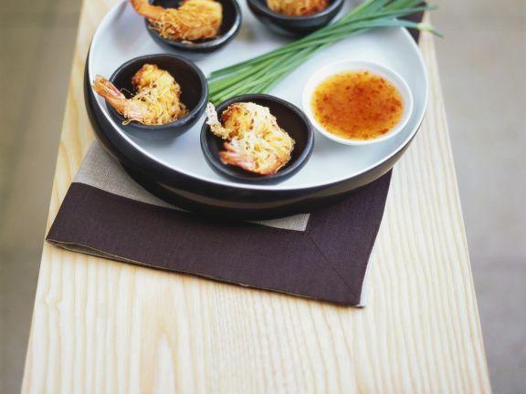 Reisnudel-Garnelen mit Asia-Dip ist ein Rezept mit frischen Zutaten aus der Kategorie Garnelen. Probieren Sie dieses und weitere Rezepte von EAT SMARTER!