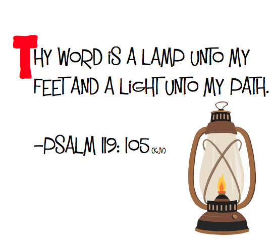 Beautiful This Weeku0027s Memory Verse For Grade Is From Psalm   Thy Word Is A Lamp Unto  My Feet And A Light Unto My Path. On Sunday, November 18 We Will Have A ...
