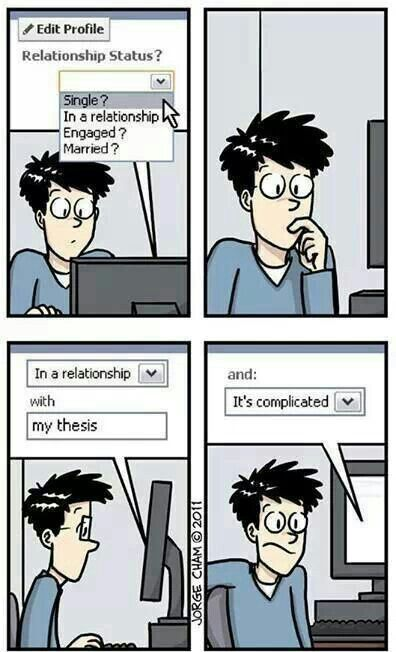 On Being 17, Bright, and Unable to Read Thesis?