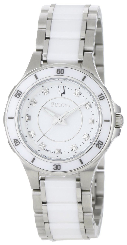 9ec5a9d9a3ee Reloj Bulova para Mujer de cerámica y acero