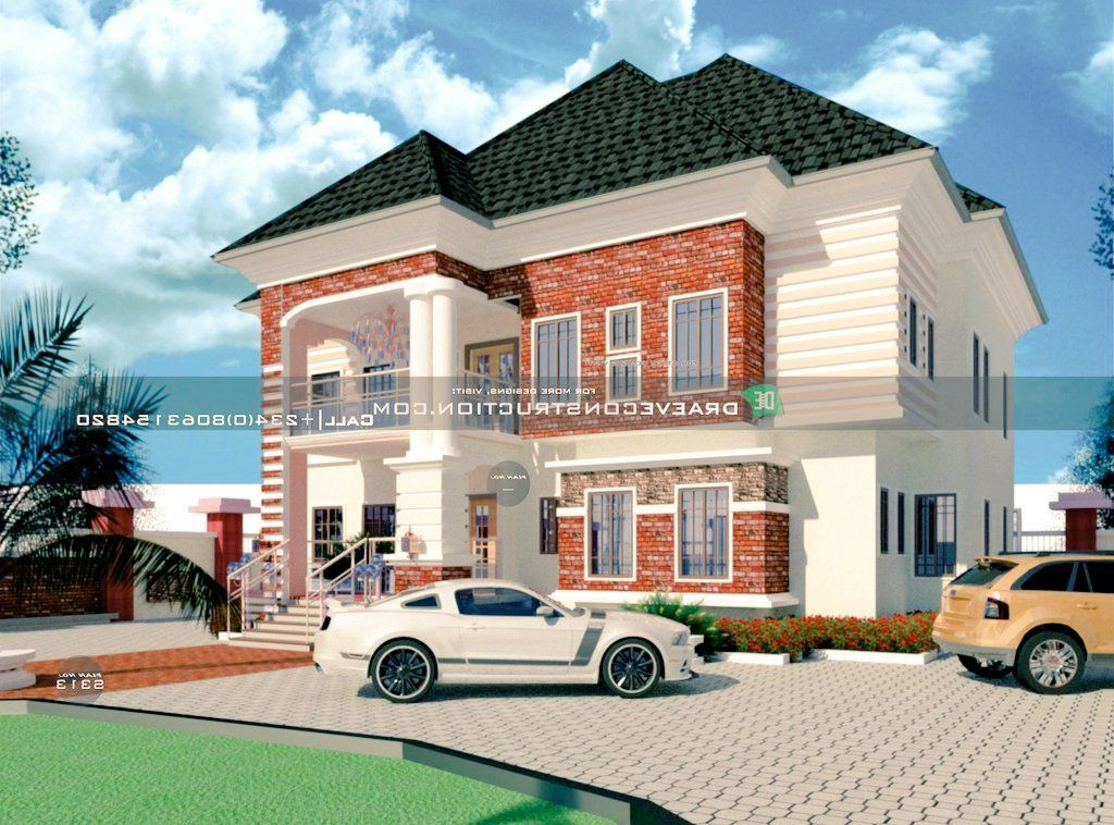4 Bedroom Duplex Houseplan in PortHarcourt, Nigeria | (N15 - N25) million