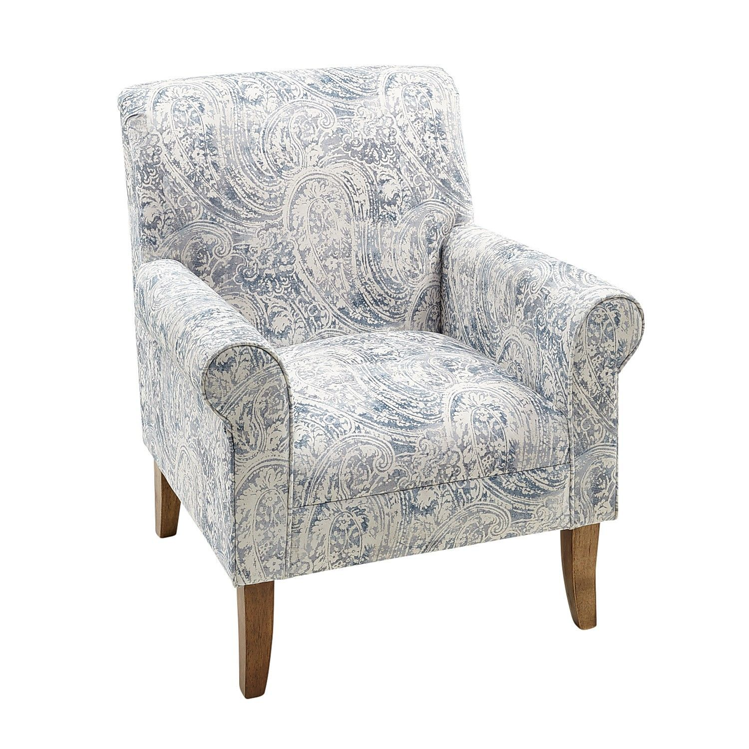 Best Laila Blue Paisley Chair Armchair Ikea Dining Chair 400 x 300