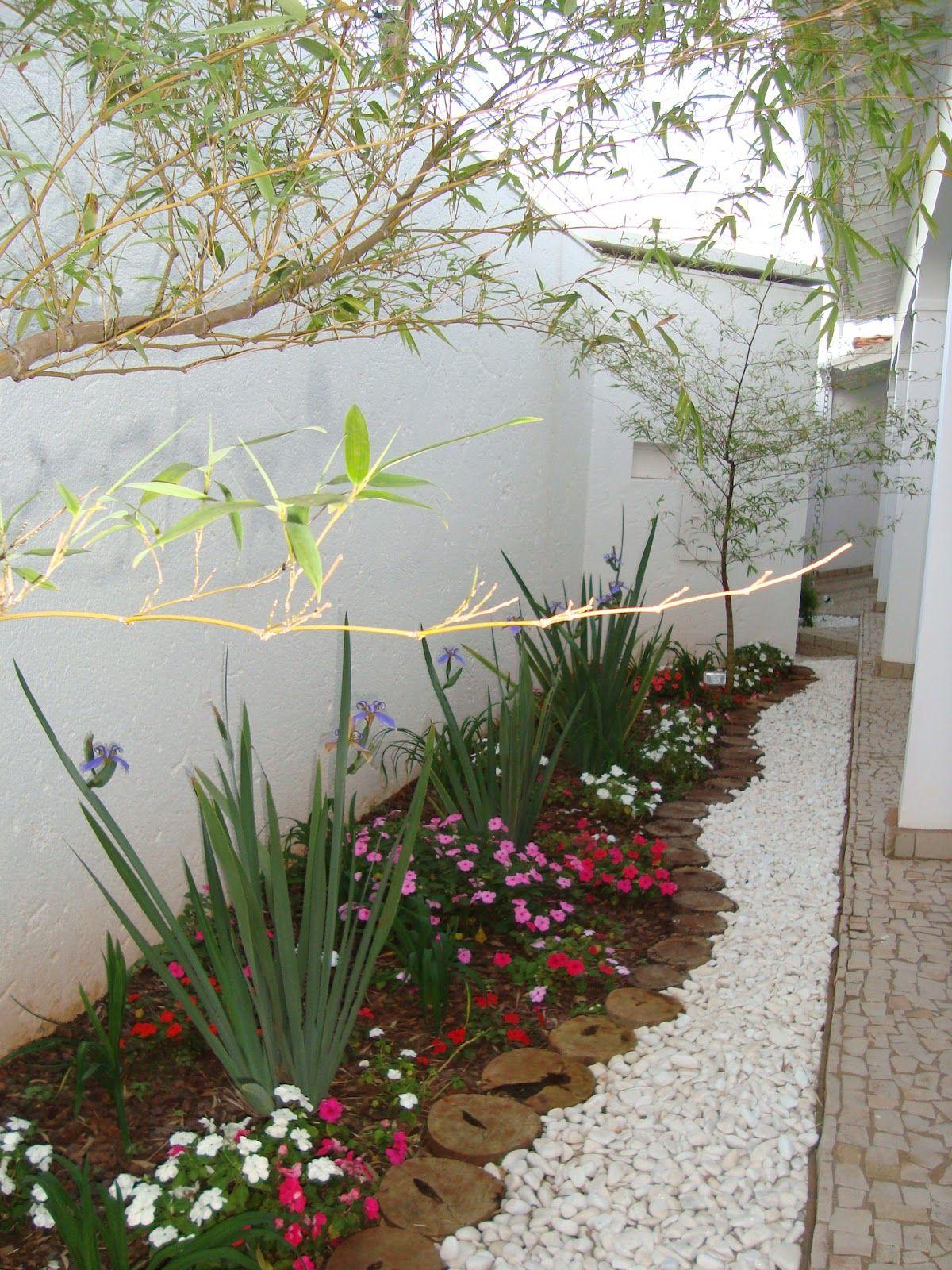 Como se faz canteiro com pedras no jardim pesquisa for Decoracion barata pisos pequenos