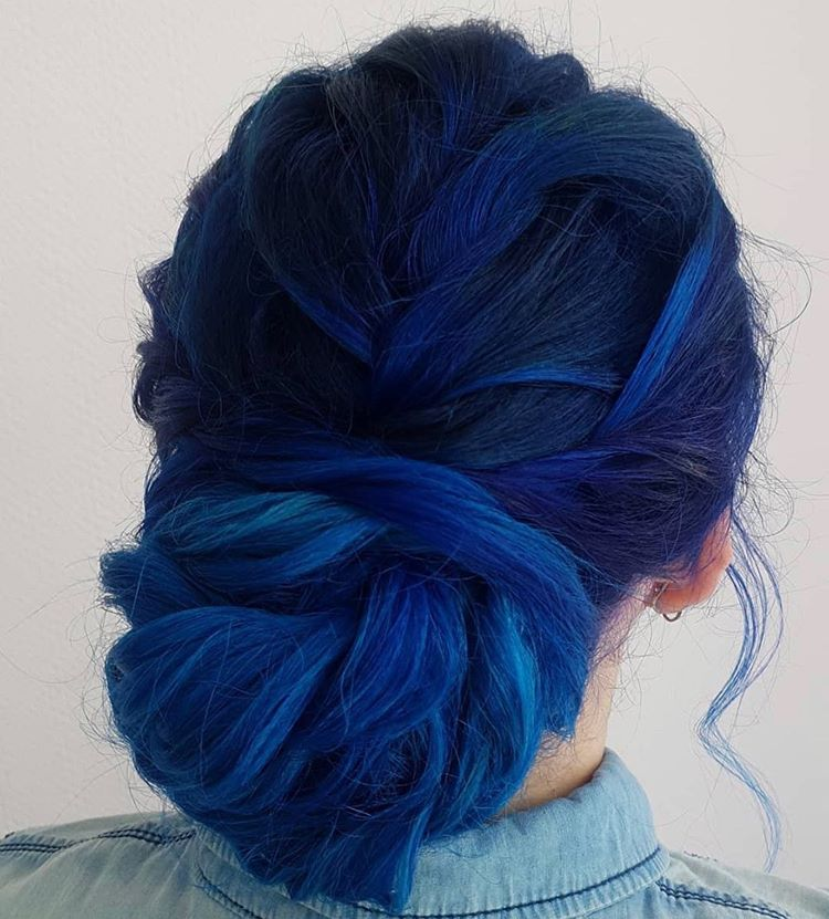 52 Ombre Rainbow Hair Colors To Try 2: ATTITUDE CLOTHING Co. Op Instagram: