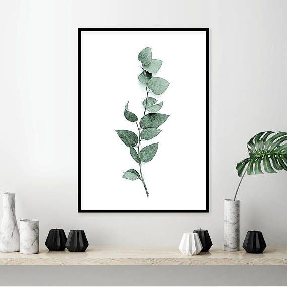 Minimalist Leaf Print Minimalist Minimalist Print Scandi Print Modern Art