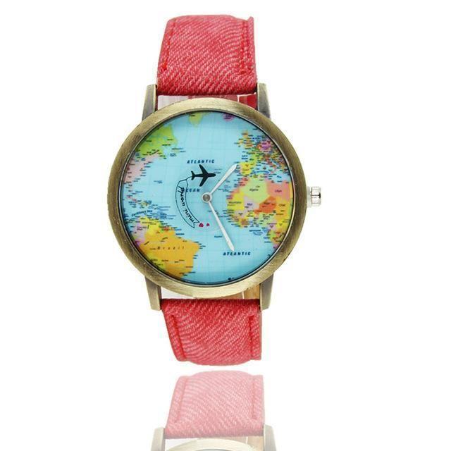 Vintage World Traveler Watch #inspireuplift explore Pinterest