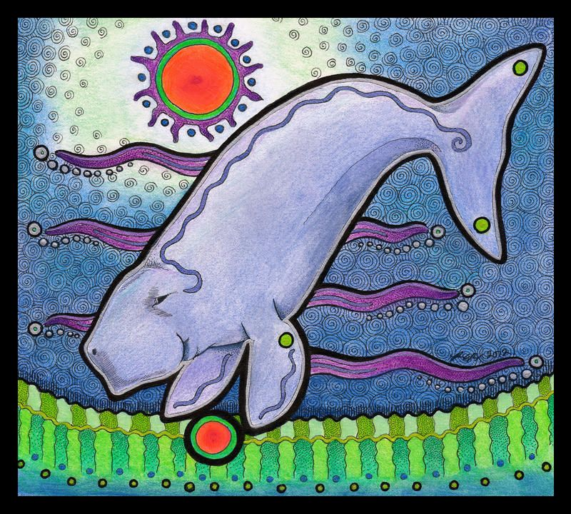Red Circle Dugong by Ravenari on DeviantArt (With images